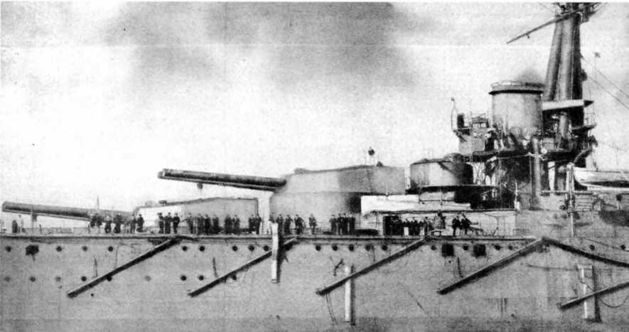 """Линейный корабль """"Орион"""" в различные периоды службы"""