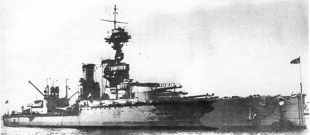 """Линейный корабль """"Центурион"""" в 1913-1914 гг."""