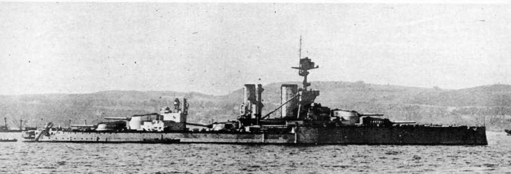 """Линейный корабль """"Центурион"""" в 1918 г."""