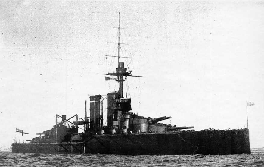"""Линейный корабль """"Одейшес"""" в 1913-14 гг."""
