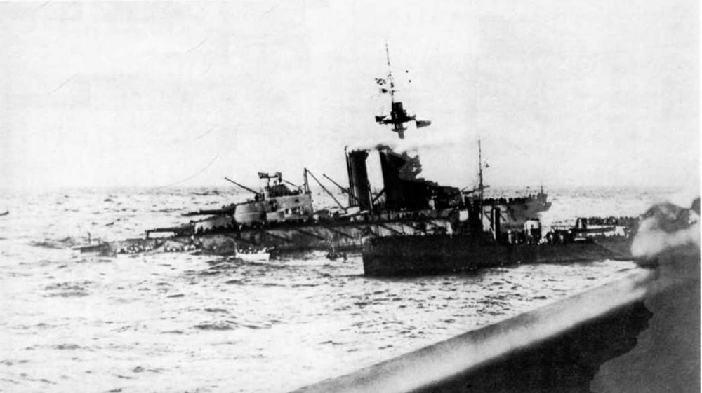 """""""Одейшес"""" перед гибелью. 27 октября 1914 г."""