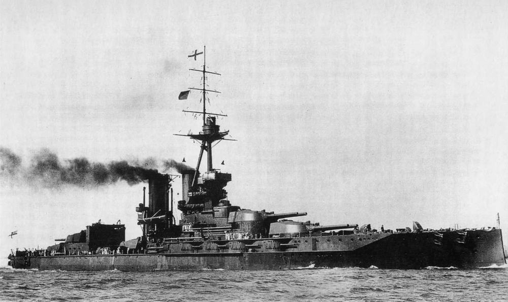 """Линейный корабль """"Айрон Дюк"""". 1917-1920-е гг."""