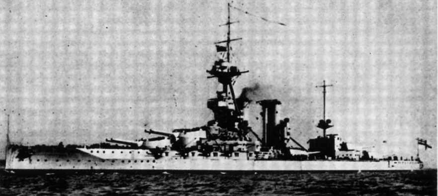 """Линейный корабль """"Айрон Дюк"""" в 1929 г."""