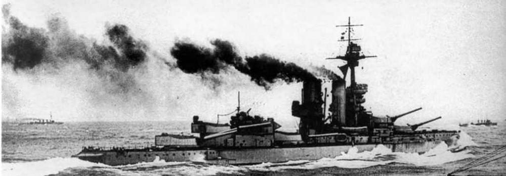 """""""Бенбоу"""" в Ютландском сражении"""