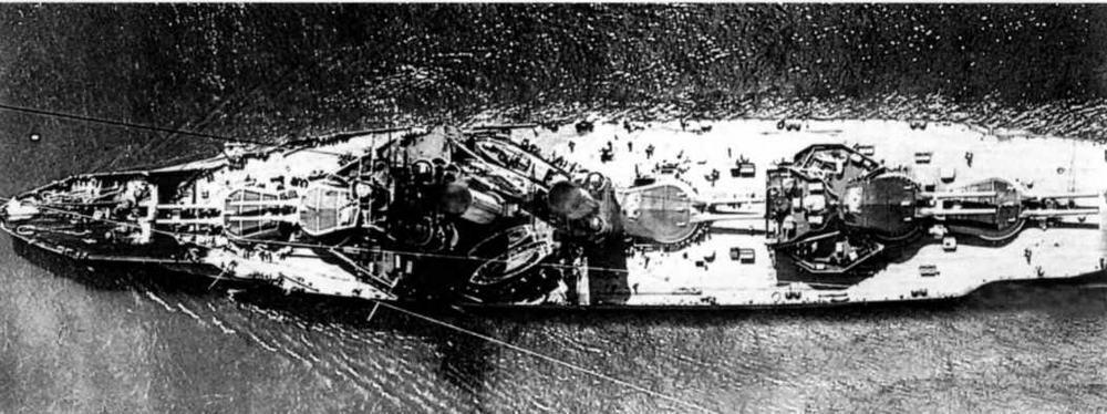 """Линейный корабль """"Имперор оф Индиа"""" после войны"""