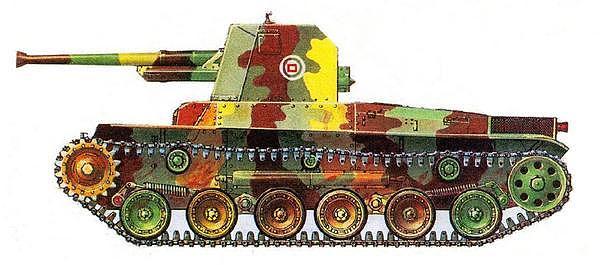 Самоходная пушка «ХО-НИ I». 4-я рота 14-го танкового полка, 1944 год.