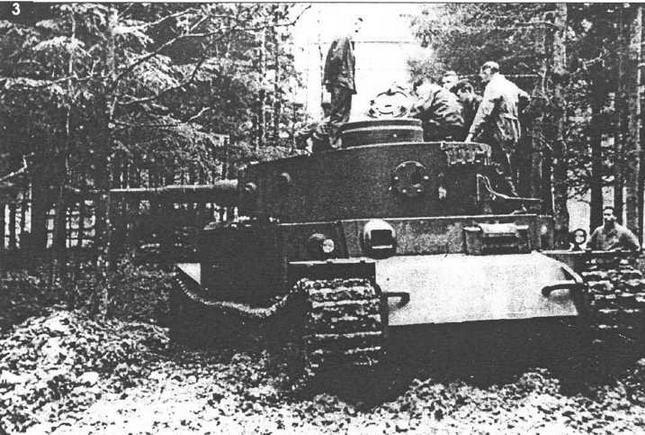 VK4501(P) во время заводских испытаний. 1942 г.
