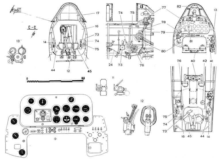 11 — прицел ПБП-1Б;