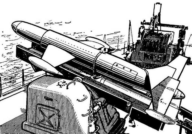 """Рис. 27. Пусковая установка ПЛУРО """"Малафон"""""""
