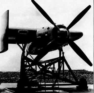 Стенд для отработки силовой установки для Т-117
