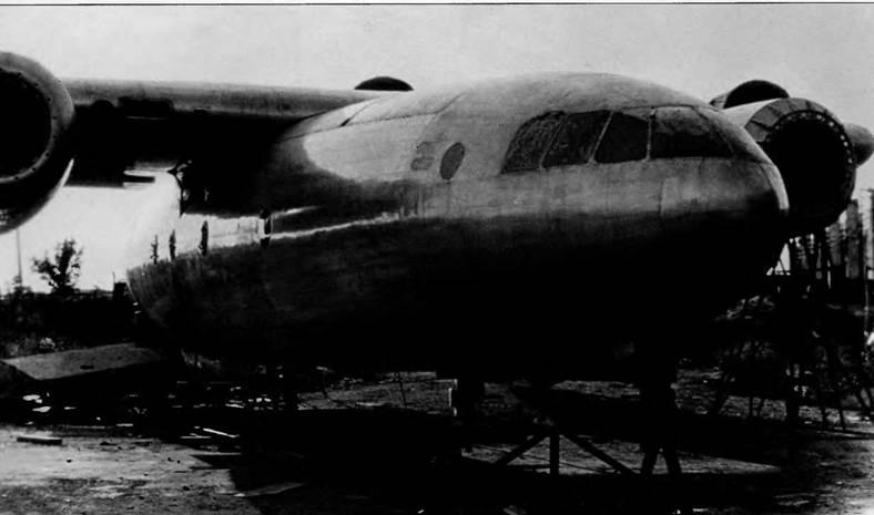 Самолет Т-117 так и не дождался двигателей