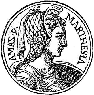 Марпезия. Гравюра XVI в.