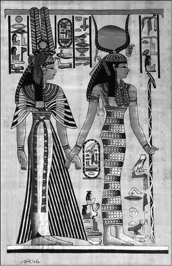 Древнеегипетская царица и богиня Исида