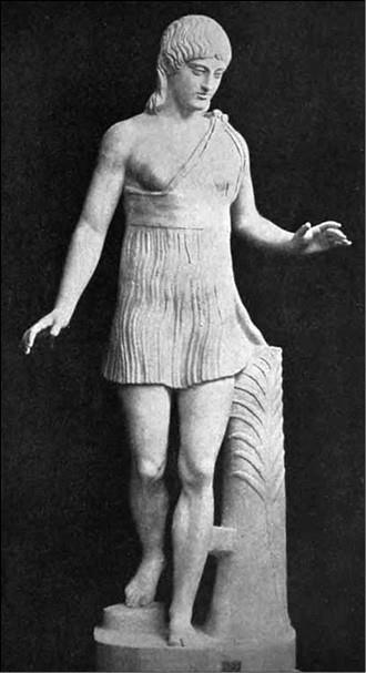 Арахидамия. Древнегреческая скульптура. 200 г. до н. э.