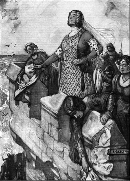 Черная Агнес. Рисунок 1906 г.