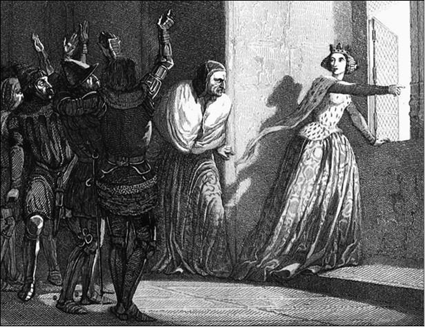 Жанна де Монфор. Рисунок XIX в.
