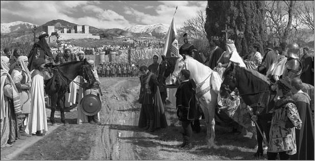Капитуляция Гранады. Художник Ф. Прадилья. 1882 г.
