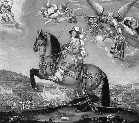 Мадам де Сен-Бальмон. Гравюра XVII в.