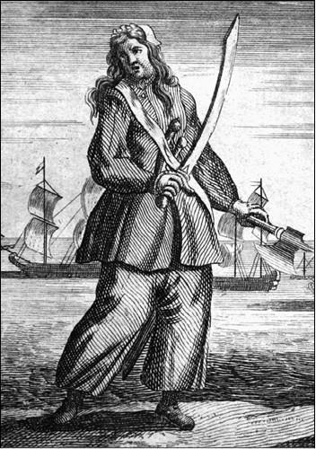 Энн Бонни. Гравюра 1720-х гг.