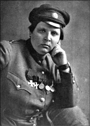 Мария Бочкарёва. Фото 1910-х гг.