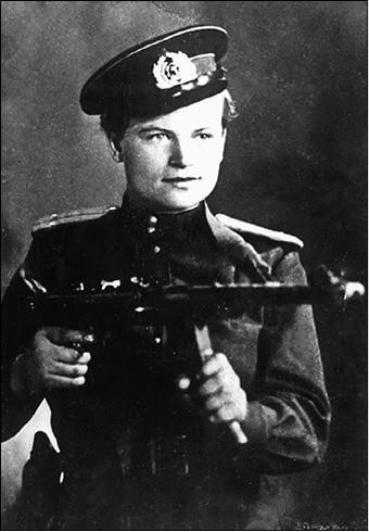 Евдокия Завалий. Фото 1940-х гг.