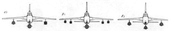 Варианты загрузки самолета F-105D атомными термоядерным оружием