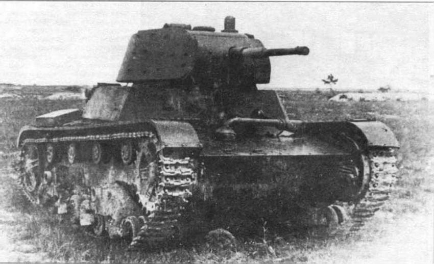 Химический танк ХТ-134 на НИБТПолигоне, 1940 г.