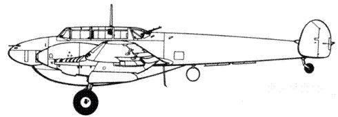 Bf 110D-1