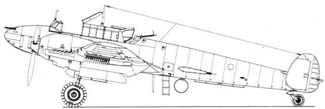 Bf 110 E-2