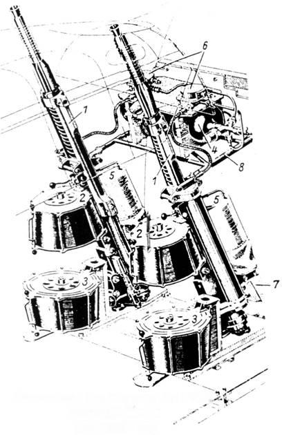 Установка двух пушек MG FF/ВД Schrдge Musik (Rustsatz R8)