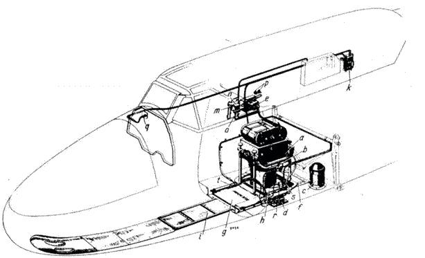 Установка фотоаппарата в разведывательных самолетах