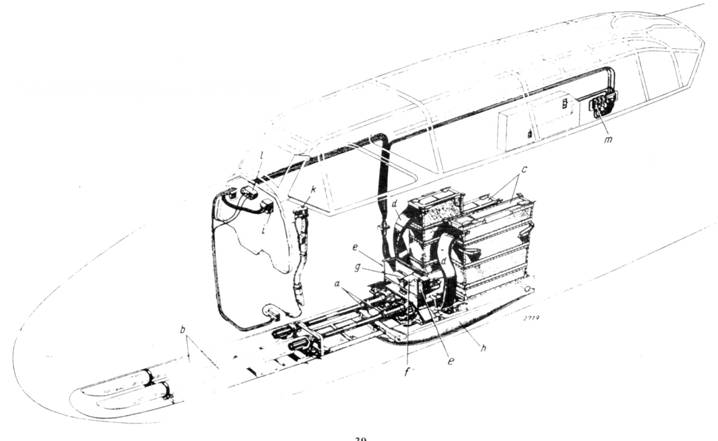 Установка пушек MG 151/20