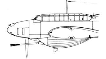Messerschmitt Bf 110 G-2/R1 с пушкой BK 3,7 см