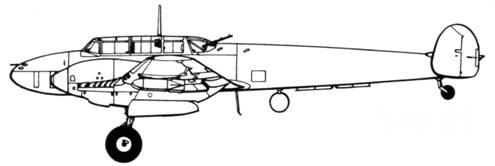 Bf 110E-1