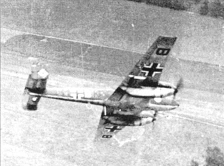 11 августа 1940 г. 61 Bf. 110 из 1 и 11/ZG- 2 эскортировали Ju-88 из KG-54 и Не-11 из KG-27 в налете на Портланд. Дополнительное прикрытие обеспечивали Bf. 109 из JG-2. В жестоком воздушном бою было сбито 16 «Харрикейнов», шесть Bf. 110, пять Ju-88, один Не-111 и шесть Bf.109. Среди погибших был командир 1/ZG-2 майор Отт.