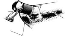 Пылевой фильтр на воздухозаборнике карбюратора