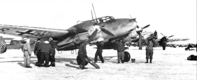 Увеличению бомбовой нагрузки Bf. 110 особенно обрадовались на Восточном фронте, где SKG-210 специализировалась на нанесении бомбоштурмовых ударов с малых высот.