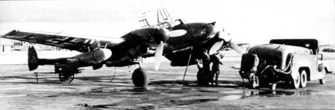 Зимой 1942 – 1943 г.г. единственной частью церстореров осталась JG-5.
