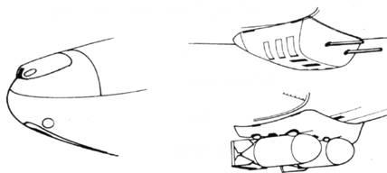 R6 одновременная установка наборов R2 и R3 две пушки MG-151 или ЕТС-500