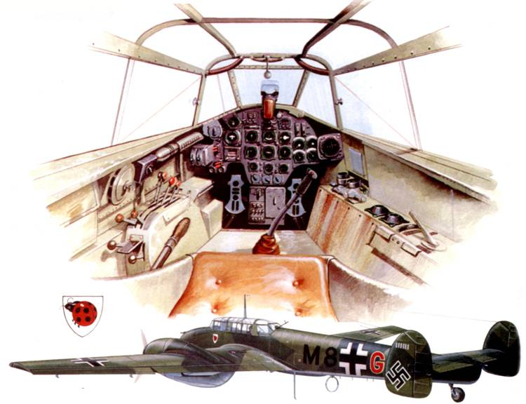 Кабина Bf 110 G