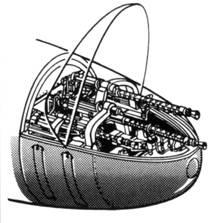 Отсек вооружения Bf110C-F
