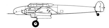 Messreschmitt Bf 110V1