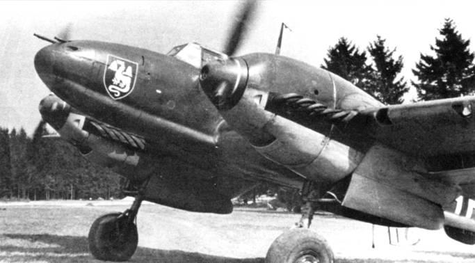 ZG-52 была сформирована в конце 1939 г. Эмблема эскадры – дракон белого цвета на фоне щита черного цвета. К моменту вторжения германских войск в Данию и Норвегию гешвадер еще не закончил подготовку.