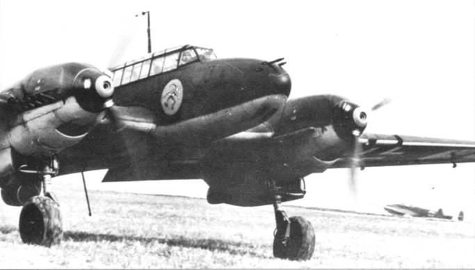 Переоснащенная Bf. 110 I/JG-137 весной 1940 г. получила новое обозначение – ZG-2. На борту самолета красуется эмблема Бермбургягеров. Эскадра достигла состояния боеготовности в мае 1940 г.
