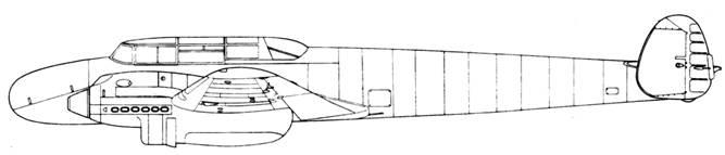 Messerschmitt Bf 110 V1