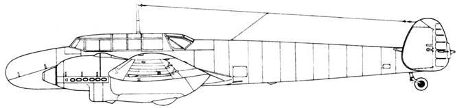 Messerschmitt Bf 110 A-0