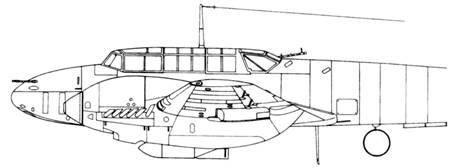 Messerschmitt Bf 110 C-4/B с бомбодержателем ETC-500/IX