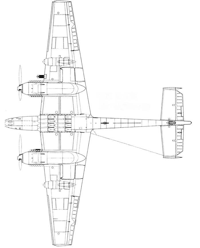 Bf 110 D-3/trop