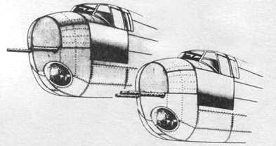 B-25G (слева) В-25Н