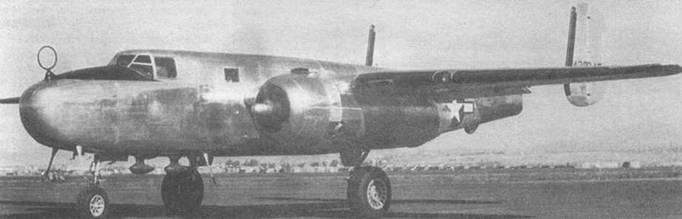 В-25 (44-28945) стал вторым самолетом генерала Арнольда, командующего ВВС США. Самолет снят на приемочной площадке.
